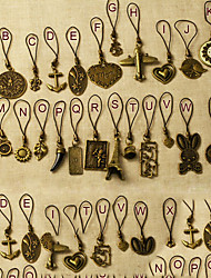 Vintage Animal&Heart&Floral Shape Pendants(Product May Vary)