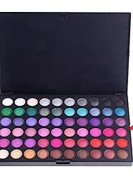 120 Lidschattenpalette Matt / Schimmer Lidschatten-Palette Puder Normal Party Make-up