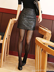Black and White Knit Stocking (More Colors)