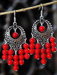 Chinese Vintage Statement Earrings