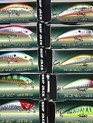 Hard Bait Minnow 70MM 8.5G Sinking Fishing Lure Packs (10 pcs)