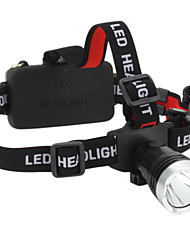 3-Mode Cree XM-L T6 LED Headlamp (1200LM, 1x18650/3xAAA)