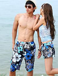 oliveira praia flor natação calças casal