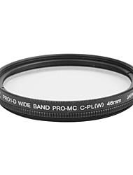 véritable JYC super mince haute performance à large bande Pro1 Filtre CPL 46mm