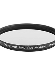 Genuine JYC Super Slim High Performance Wide Band ND8 Filter 49mm