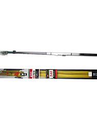 alto teor de carbono nuoke509 iso 3.8m/4.5m/5.4m/6.3m vara de pesca