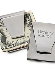 Gift Groomsman Classic Personalized Money Clip