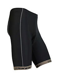 SANTIC® Cycling Padded Shorts Men's Bike Quick Dry Shorts / Bottoms Polyester Solid Spring / Summer Cycling/Bike