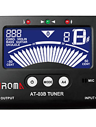 hinterleuchtete LCD-mic-Tuner für die chromatische / Gitarre / Bass / Ukulele / Geige