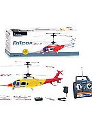 3ch helicóptero rc com giroscópio estável vôo de rádio controle (RC) prontos para voar (RTF) helicópteros de brinquedo (yx02677)