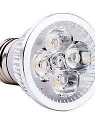 4W E26/E27 LED Spotlight MR16 4 High Power LED 350-400 lm Natural White AC 85-265 V