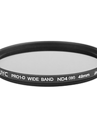 Genuine JYC Super Slim High Performance Wide Band ND4 Filter 49mm