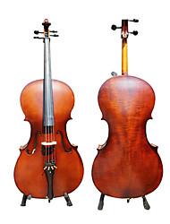 ручной атласа твердых виолончель ели с подставкой