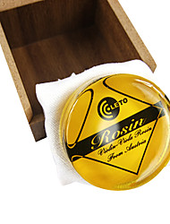 желтый канифоли с жестким футляром для скрипки / альта / виолончель в 20 грамм