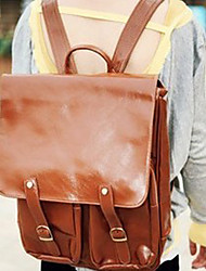 Retro PU Travelling Backpack