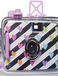 Loving Hearts Reloadable Underwater Film Wedding Camera