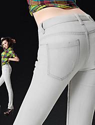 серый чистой Жан узкие брюки