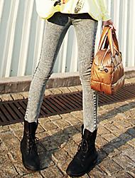 Basic Design Pencil Jeans