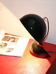 tafellamp met 1 licht in het zwart