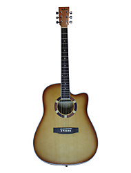 "Blitz - DG170 41"" Spruce Plywood Cutaway Dreadnought Acoustic Guitar with Allen Wrench"