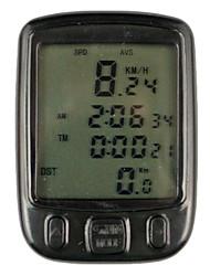 цифровой ЖК-цикл компьютер велосипед спидометр-563