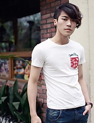 la impresión de manga corta t-shirts para hombres