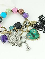 colorés dames style bohème des bracelet de cristal volet