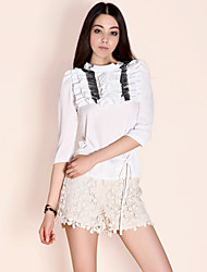 TS Organ Fold Blouse Shirt(More Colors)
