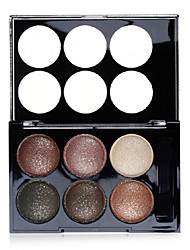 6 Colors Sample Shimmer Powder Eye Shadow