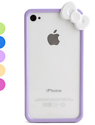 Custodia posteriore stile Cartoon per iPhone 4 e 4S - Colori assortiti