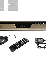 Ultra Low Price 4 Channel H.264 DVR (VGA Output, Network)