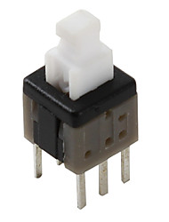 6-pin Tact Switch (Non-lock, 20 Pieces a pack, 5.8x5.8mm)
