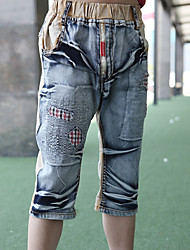 Fashion Boy's Cropped Jeans