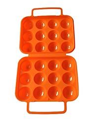 recipiente de ovo com orifício 4,3 centímetros (laranja)