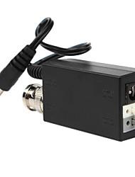 1-ch ativo transmissor de vídeo UTP + 1 pedaço de par trançado