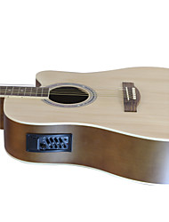 "Blitz - WDG15 41"" Linden Plywood Dreadnought Cutaway Acoustic-Electric Guitar with Allen Wrench"