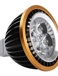 GU5.3(MR16) LED Spotlight MR16 4 High Power LED 360 lm Natural White DC 12 V