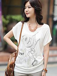 Elegant Loose Tee Shirt