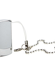 2GB Flip Style USB Flash Drive Key Ring (Silver)