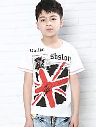 Union Jack Flag Print T-Shirt