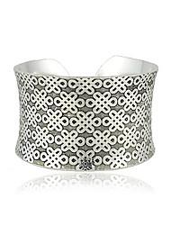 pulseira de design chinês senhoras nó 'encanto de prata