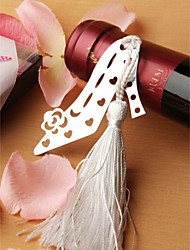 Stainless Steel Shoe Designed Bookmark Wedding Favor