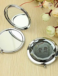 Personalized Make Up Compact - Kissing (More Colors)
