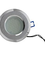 2w 3528 SMD 36-LED 240lm weiß Deckenspot Glühbirne (gebürstet, satiniertes Glas Abdeckung)