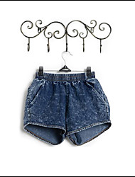 weibliche Jeans-Shorts Hot Pants