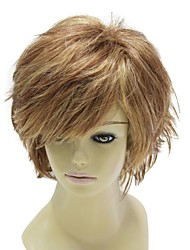 Fashion Capless Short Synthetic Brown Hair Wig