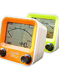 Cherub WMT-820 3in1 LCD gemeinsamen U-Bahn-Tuner für die chromatische / Gitarre / Bass / Ukulele