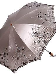 Fashion Multi-color Colloid UV Protection Umbrella