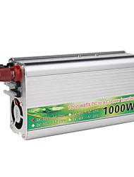 автомобиль мощность инвертора 12v-220v 1000w