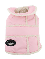Dog Coat Pink Dog Clothes Winter Animal